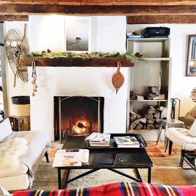 Weekends at the dreamiest Farmhouse cozy fireside weekend winter retreathellip