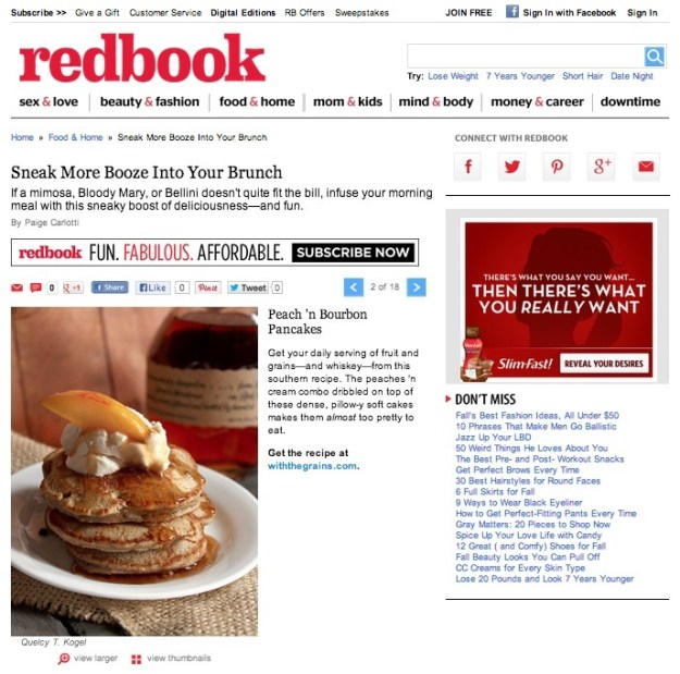 Redbook Pancakes