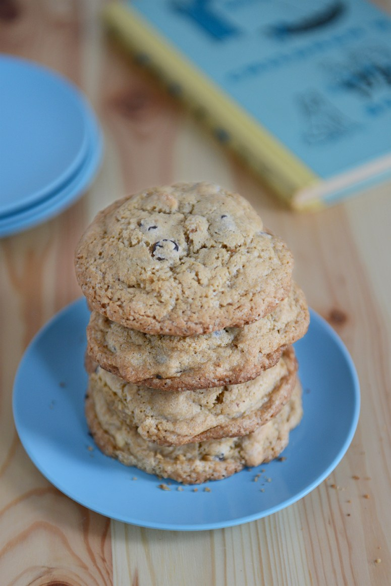 Whole Wheat Chocolate Chip Cashew Cookies