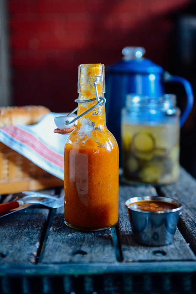 Homemade Ketchup Recipe // www.WithTheGrains.com