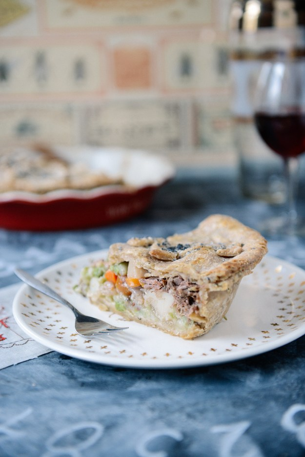 Nerd Alert! A Scottish Inspired Meat Pie for Pi(e) Day // www.WithTheGrains.com
