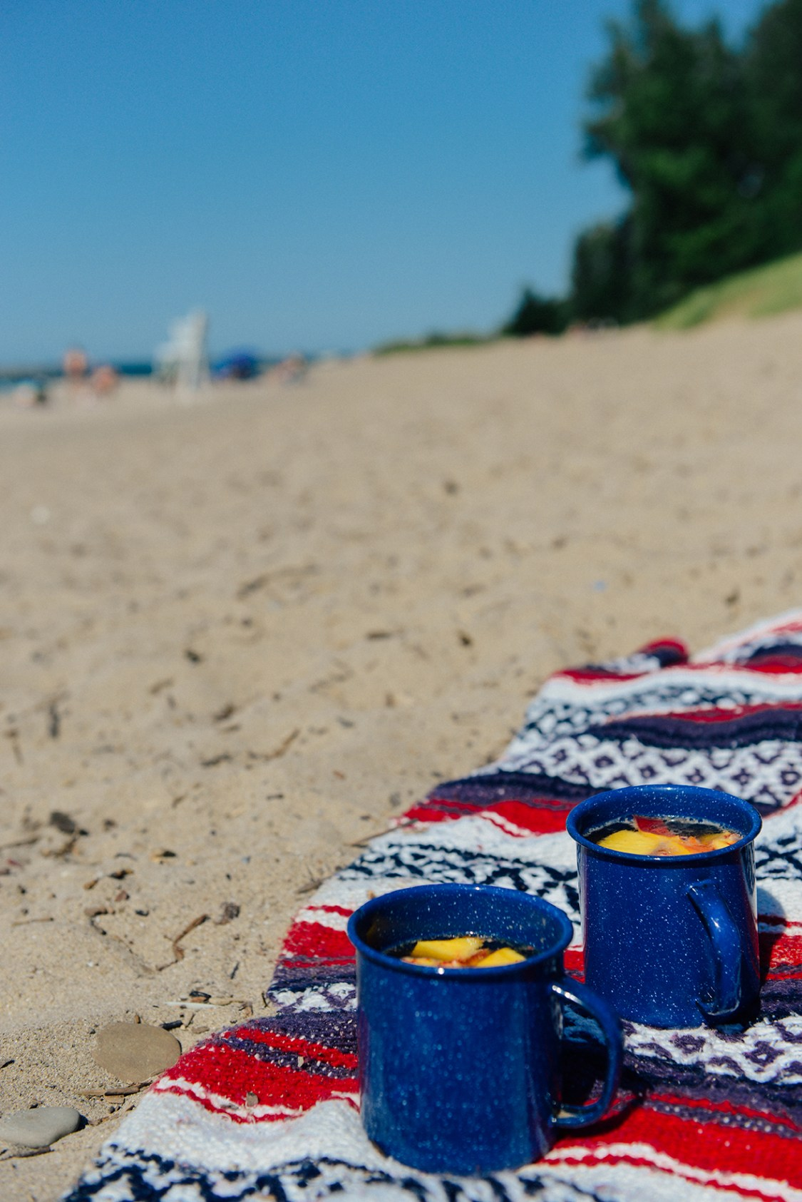 A Last Summer Hurrah at Lake Erie // www.WithTheGrains.com