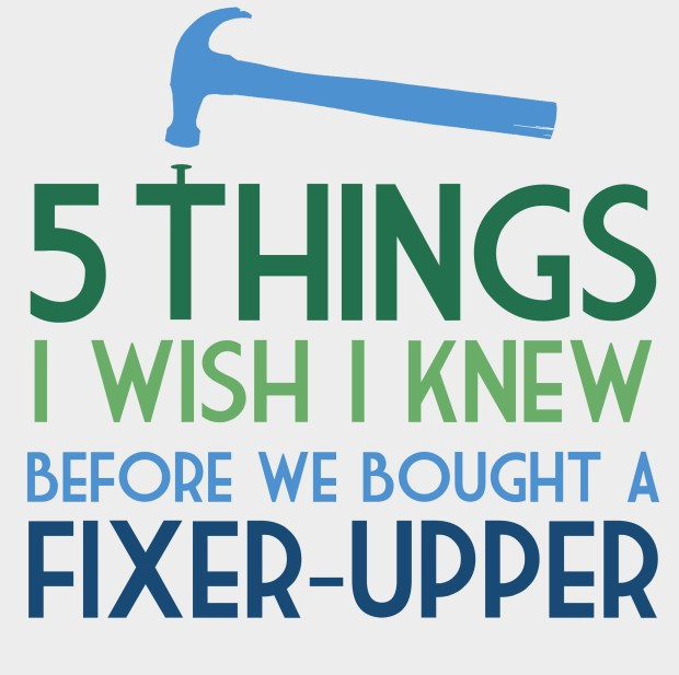 diy 5 things i wish i knew before buying a fixer upper conniemex com. Black Bedroom Furniture Sets. Home Design Ideas
