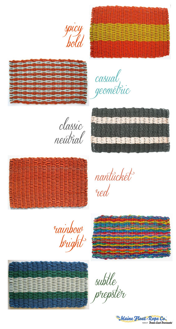 Maine Float Rope Doormats