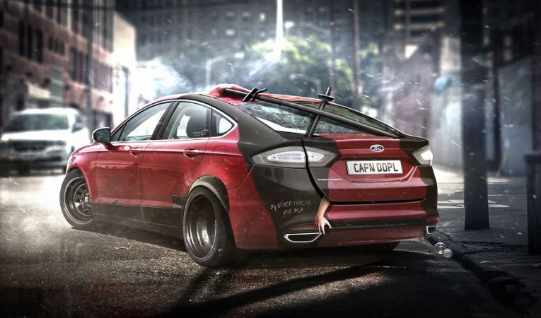 Deadpool – Ford Mondeo Fusion