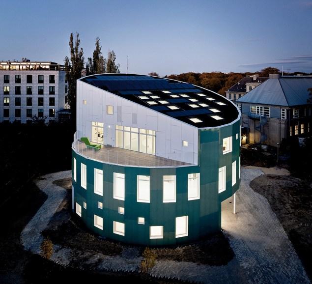 domy aktywne, domy przyszłości, Green-Light-House