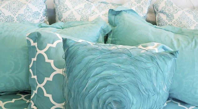 pastelowy blekit 1 Kolor morski i pastelowy błękit we wnętrzach