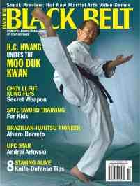 H.C. Hwang Black Belt Magazine Cover 2005-10