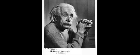 So, You Knew Albert Einstein?