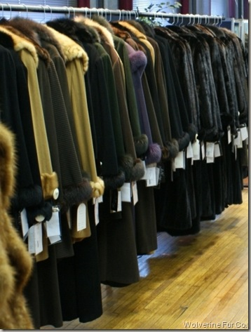 Wolverine Furs Showroom - Sell Your Fur Today