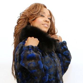 blue mink diamond jacket