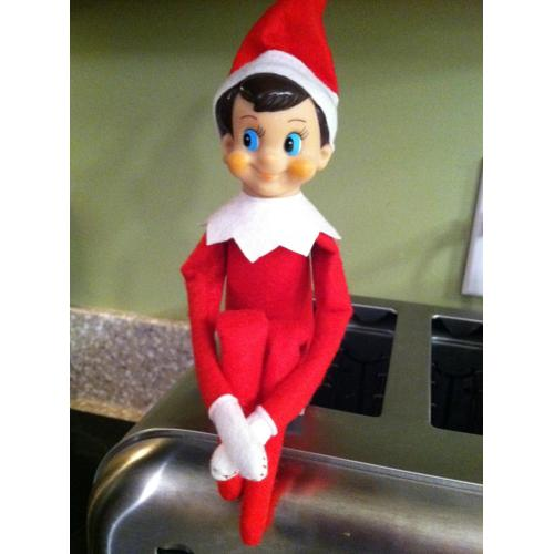 Medium Crop Of Girl Elf On The Shelf