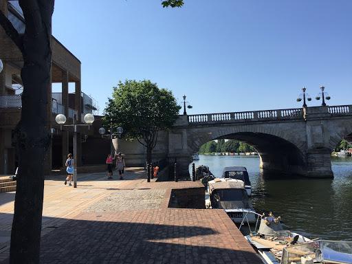 Bridge in Kingston - Richmond to Hampton Court run