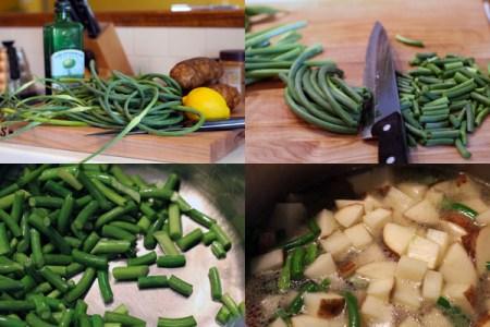Garlic Scape Soup