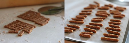 Sesame Sticks: Shaping