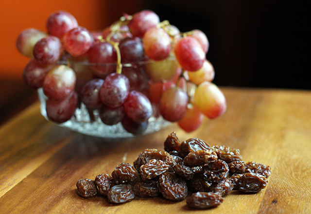 DIY Raisins