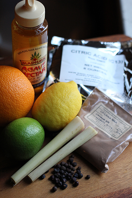 DIY Tonic Water Ingredients