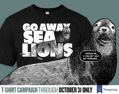 go away sea lions