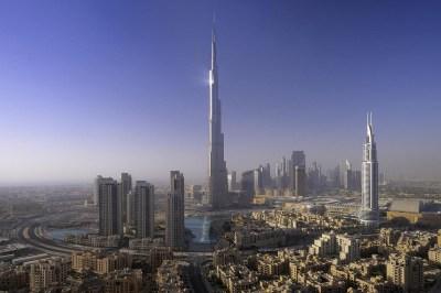 Burj Al Khalifa Dubai Fireworks New Year 2012 - The Wondrous Pics