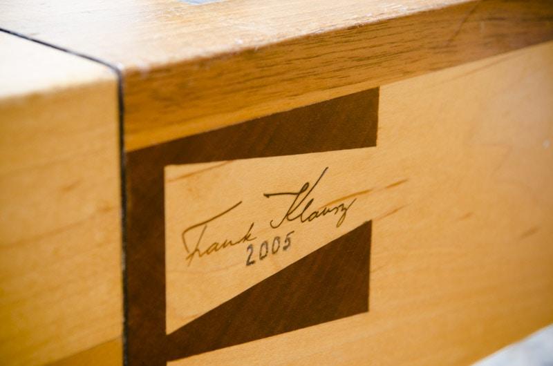 frank klausz woodworking bench