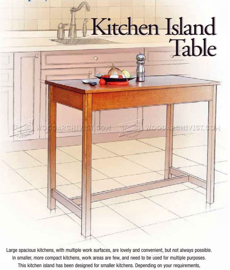 Large Of Island Tables For Kitchen