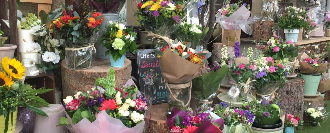 Colourful Bouquets from Fleuriste