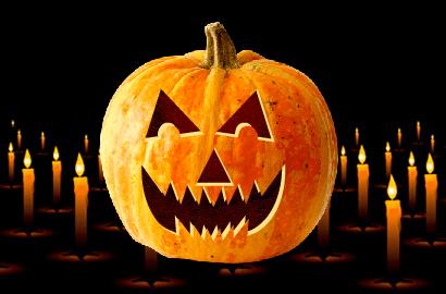 DT117 - 100 Pumpkin Faces Pattern