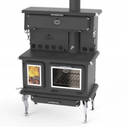 J a Roby Cook Lx Wood Cooking Stove by Obadiahs Woodstoves