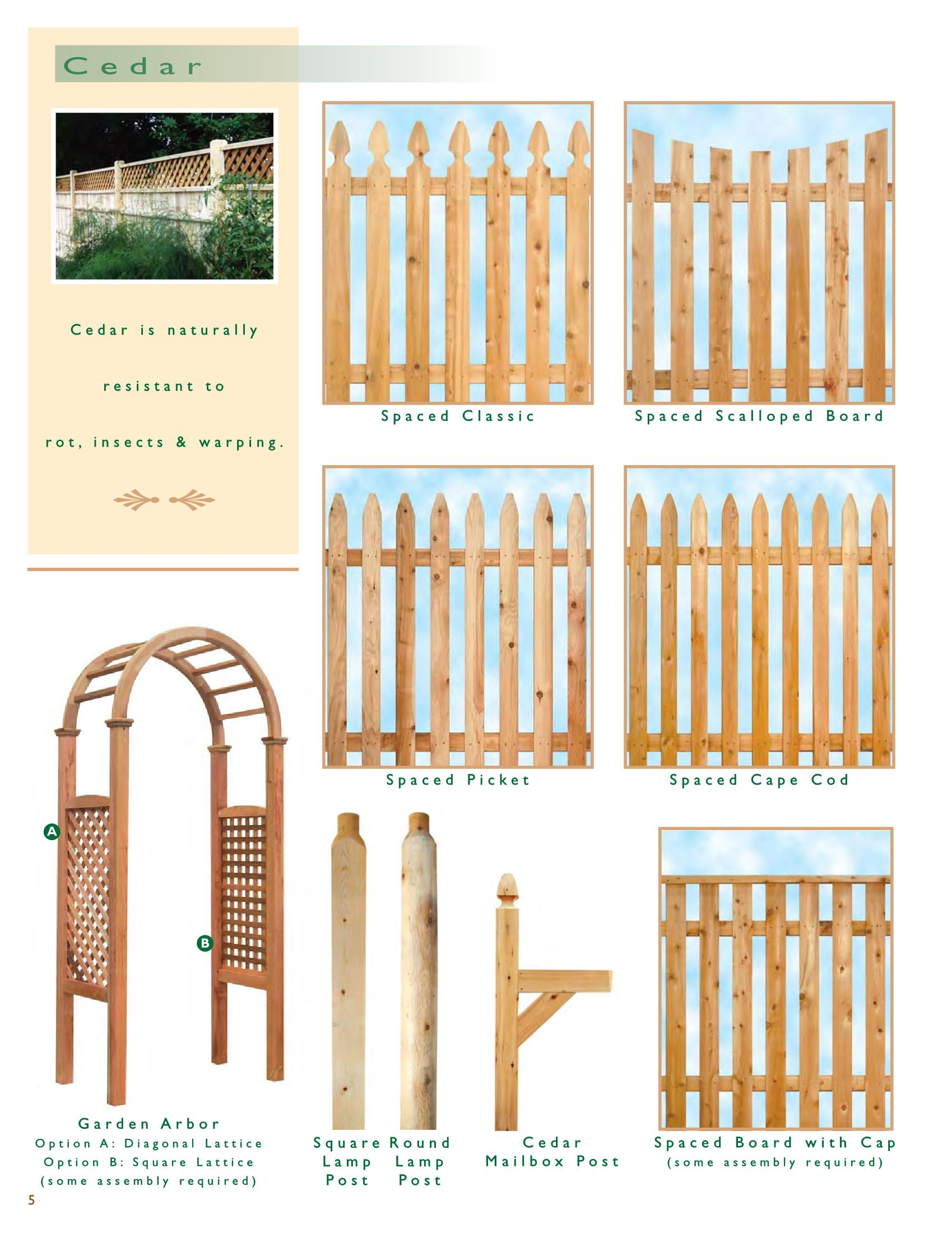 Fullsize Of Wood And Wire Fence