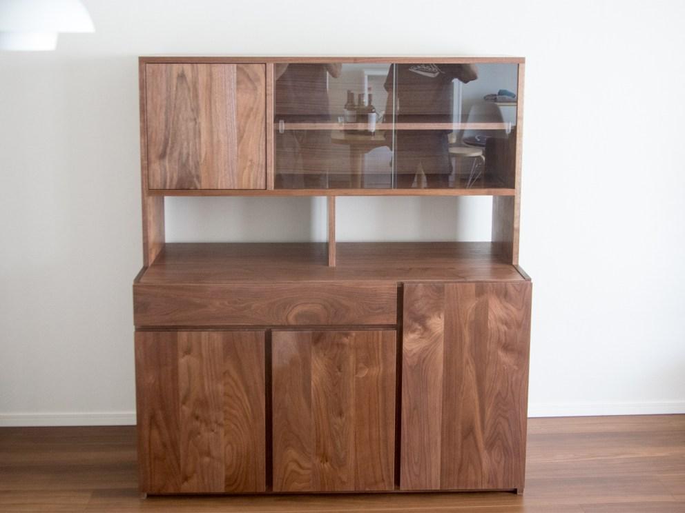 TANA CUP BOARD カップボード 食器棚 ウォールナット 収納 キッチン