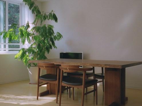 サイズ:ダイニングテーブル/長1975×巾930×高700mm、天板厚45mm