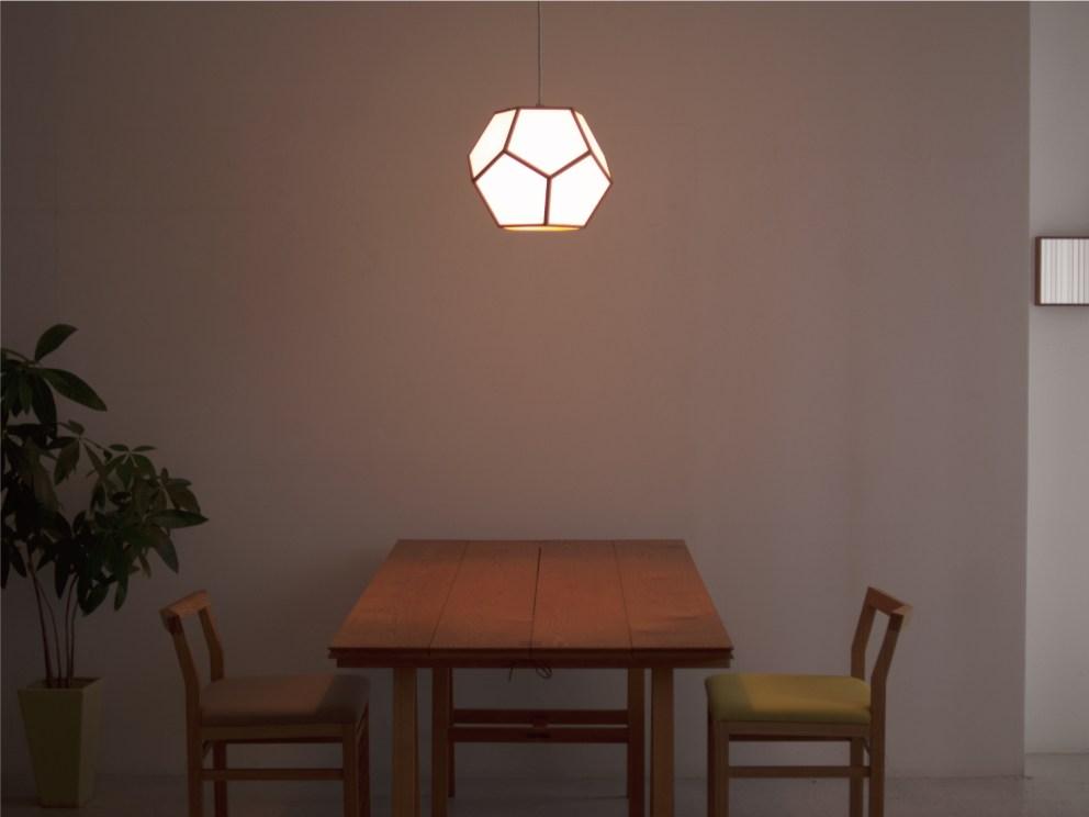 P116 行灯 証明 木 和紙