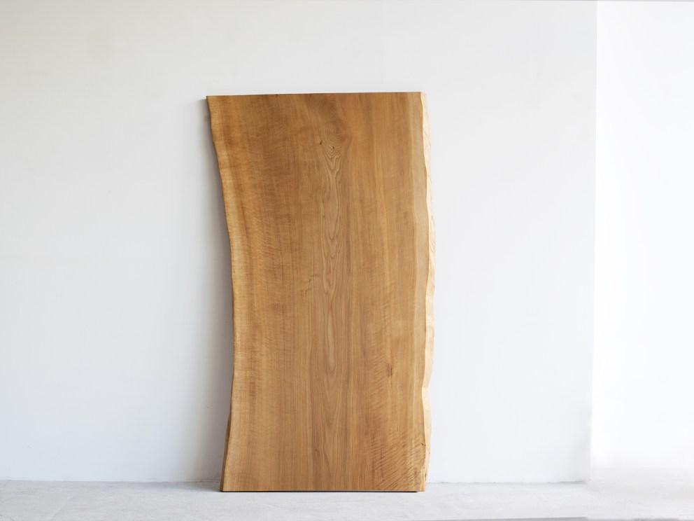 N12-27 ナラ材一枚板天板