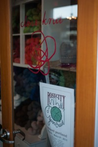 Close knit - Rose City Yarn Crawl