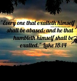 Small Of Bible Verses About Humility