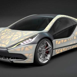 Light Cocoon- ultimate in lightweight construction sports car