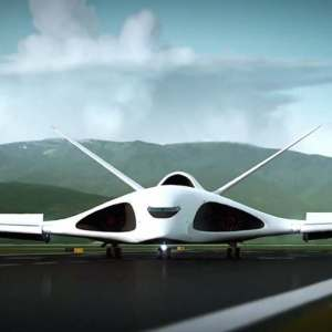 Giant Russian supersonic transport plane concept