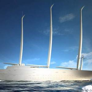 White Pearl largest luxury super sailing yacht