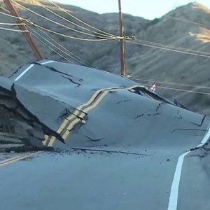 A road rose up in California and no one knows why