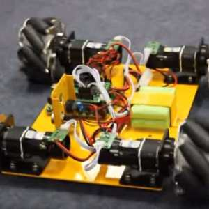 Weird Robot car moves in Four Directions