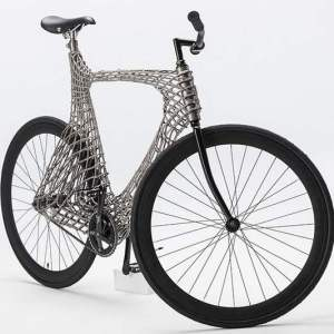 Arc Bicycle has 3D-printed steel frame