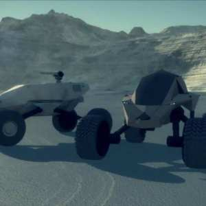Smart, fast all terrain unmanned armored vehicles