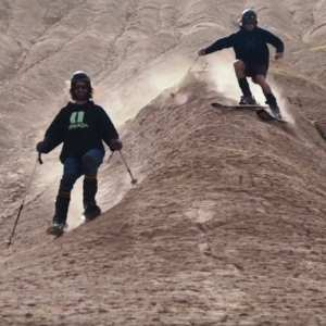 Skiing in the Middle of the Desert