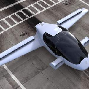 The Lilium Jet takes off and lands vertically
