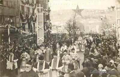 Jubilé 1932, procession de La Vierge Noire