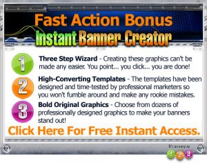 Your Welcome To Free Instant Banner Creator