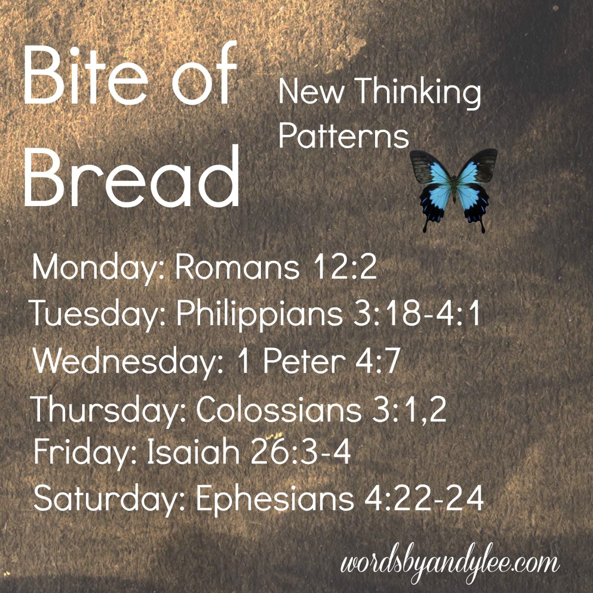 Bite of Bread: New Thinking Patterns