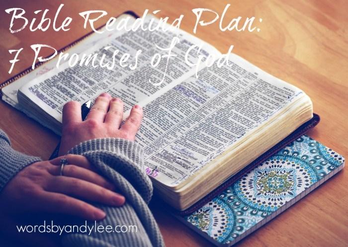 Bite of Bread: 7 Promises of God