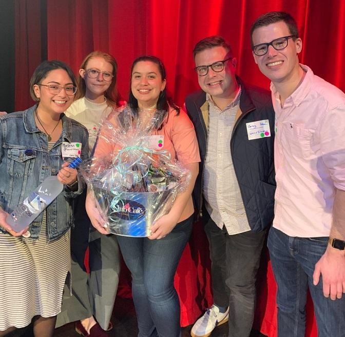WordStream employees at Out in Tech event 2019