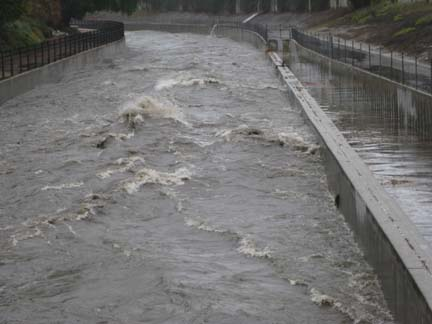Image result for dangerous los angeles flood control channel